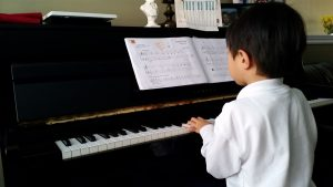 finding time to practice piano