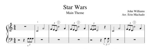 Easy Star Wars Piano Free Tutorial